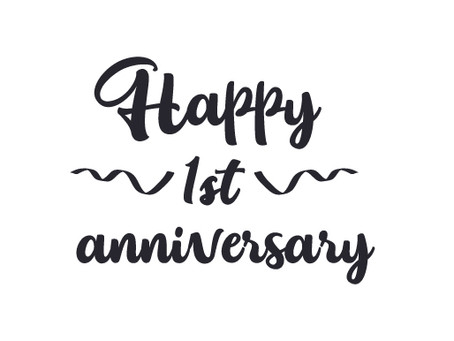Happy Anniversary to Us!!!