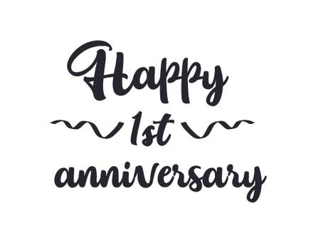 Happy Anniversary to Us!!!