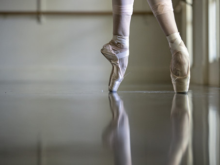 Your First Pair of Pointe Shoes!