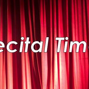 Helpful Hints for a Successful Recital