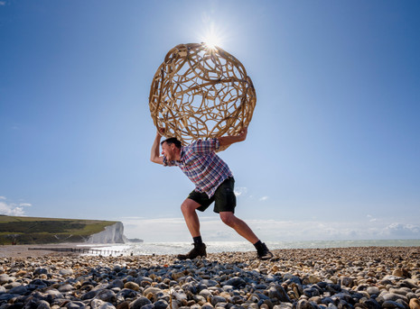 What Lies Beneath | Cable Hut | Cuckmere Haven | Artwave Festival | East Sussex 2019