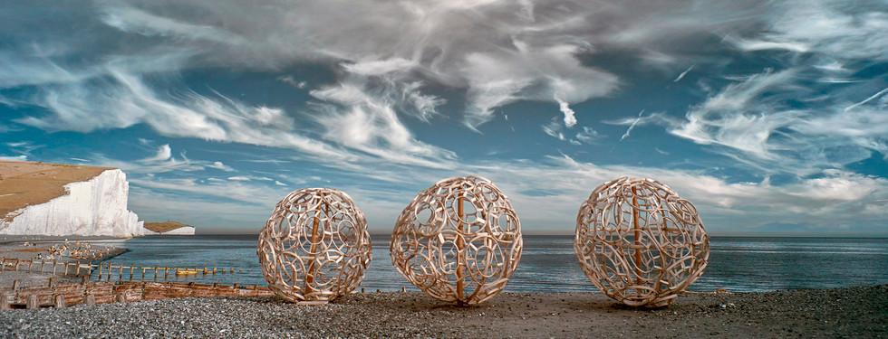 What Lies Beneath | Cable Hut | Cuckmere Haven | Artwave Festival | East Sussex 2019
