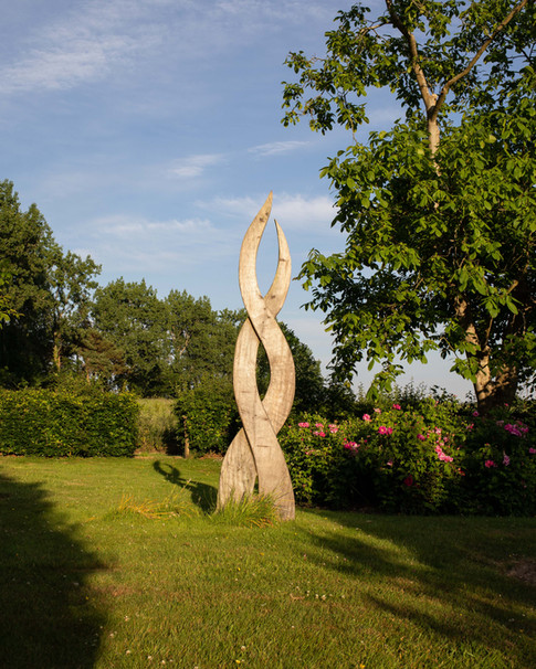 Six Sculptures   Sculpture Garden  Farleys House and Gallery, Home of the Surrealists   East Sussex 2017