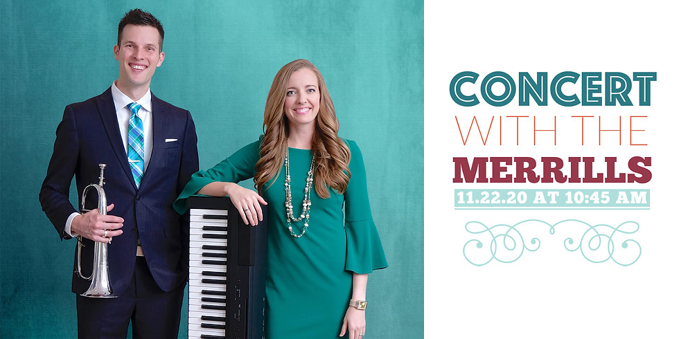 Thanksgiving Concert with the Merrills