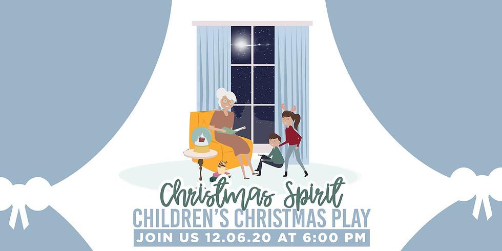 """Children's Christmas Musical """"Christmas Spirit"""""""
