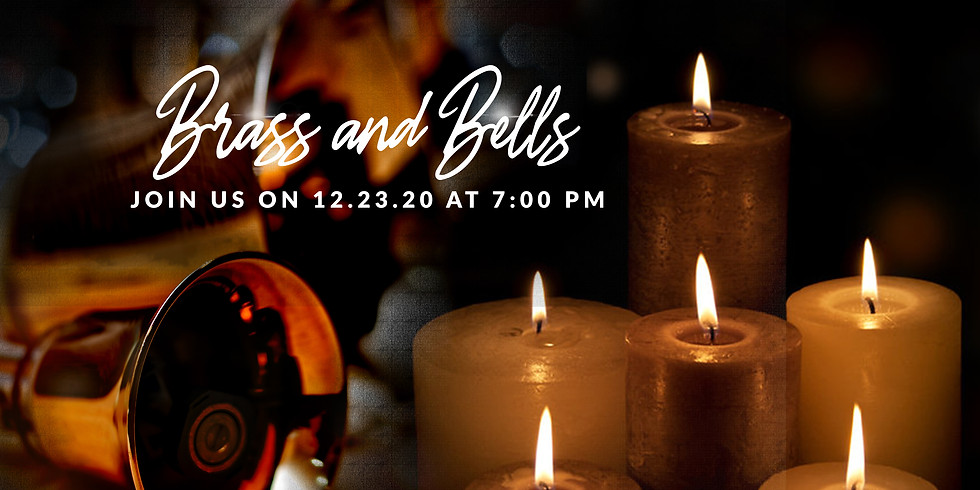 """Christmas Candlelight Service """"Brass and Bells"""""""