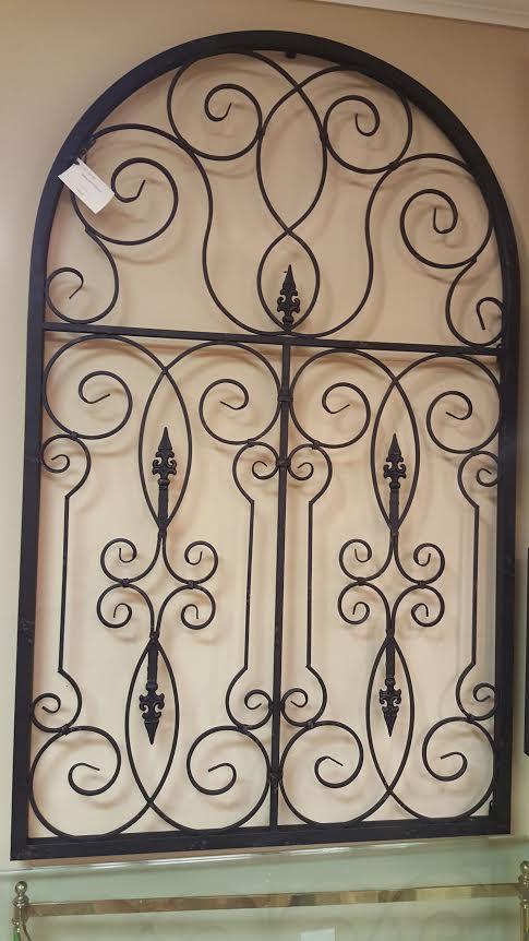 Baroque Gardens Wall Decor | roswellantiques