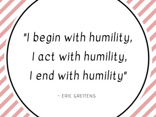 Mindful Minute: Humility