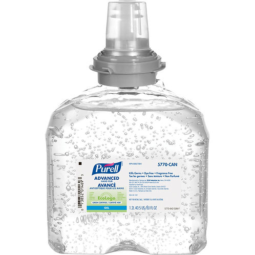 PURELL® TFX Gel antiseptique Avancé pour distributeurs | 5770-04-CAN00