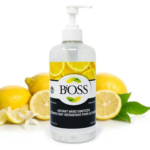 Désinfectant en gel 75% pour les mains 500 ml - BiOSS