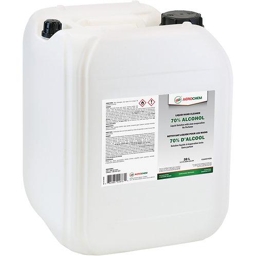 Désinfectant liquide 70% pour les mains Aerochem -20 L