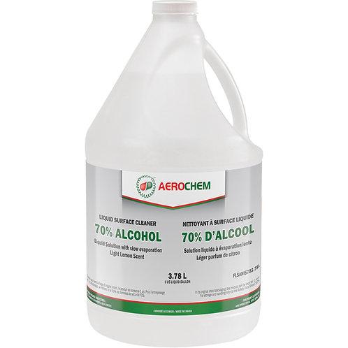 Désinfectant liquide 70% pour les surfaces Aerochem - 3.78L