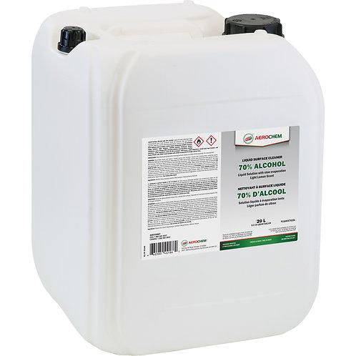 Désinfectant liquide 70% pour les surfaces Aerochem - 20L