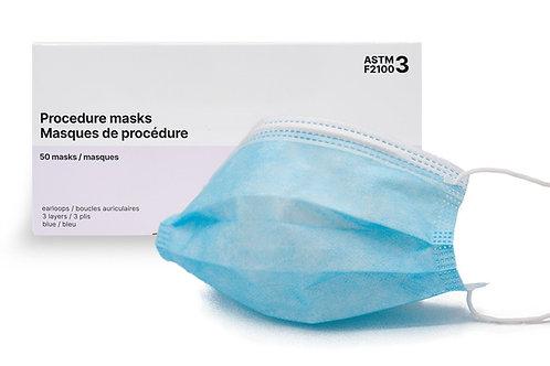 Masques ASTM F2100 NIV 3 - usage médical
