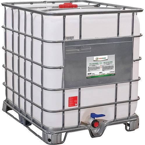 Liquide désinfectant 70% pour les surfaces Aerochem - 1000L