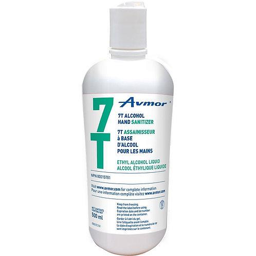 Désinfectant pour les mains 7T Avmor, 500 ml