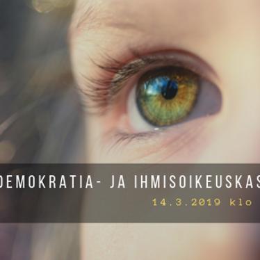 Näkökulmia demokratia- ja ihmisoikeuskasvatukseen -seminaari