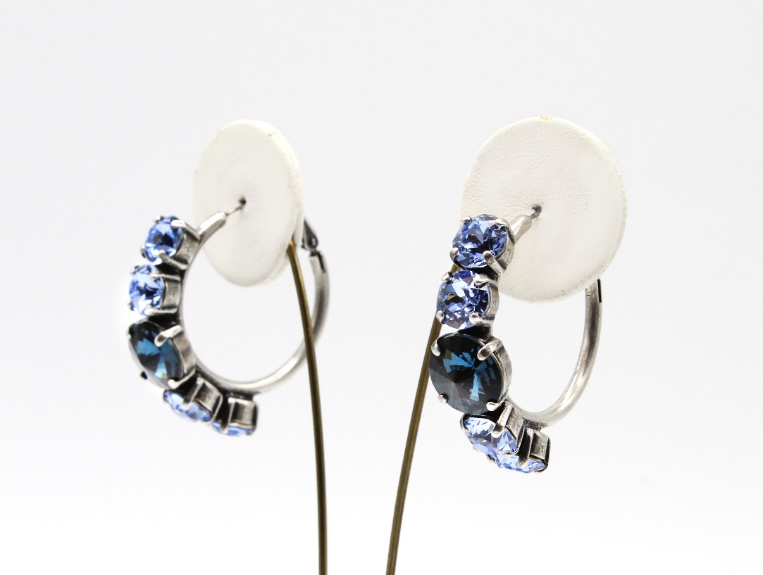 Edgy Hoop Earrings