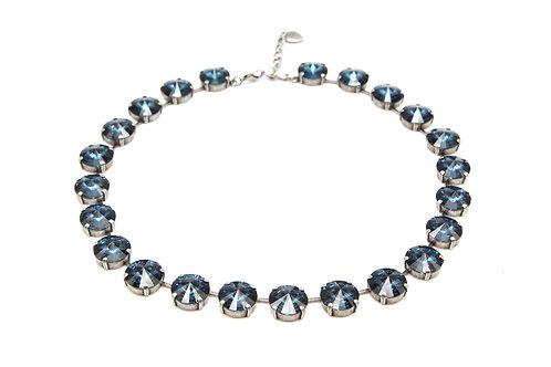 Blue Collet Necklace