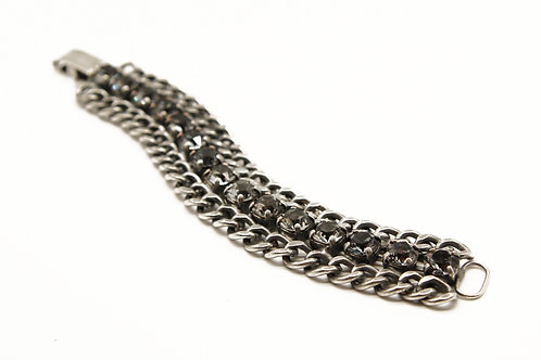 ladies curb chain bracelet-Curb link chain-chunky bracelet