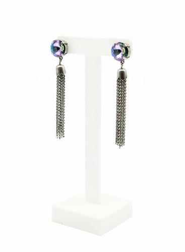 00b212903 ... Edgy earrings-statement earrings-boho earrings-tassel earrings-