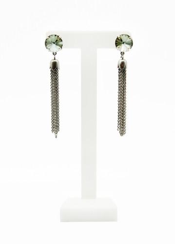 3b539b662 ... Tassel Earrings-Statement Earrings-Edgy Earrings-Rocker Earrings