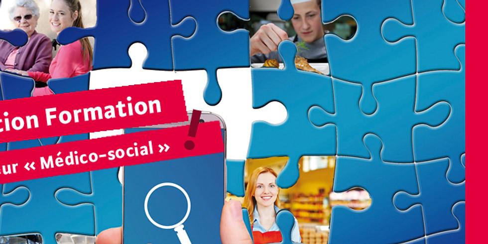 """Destin ' action : formations - Spécial secteur """"Médico-social"""""""