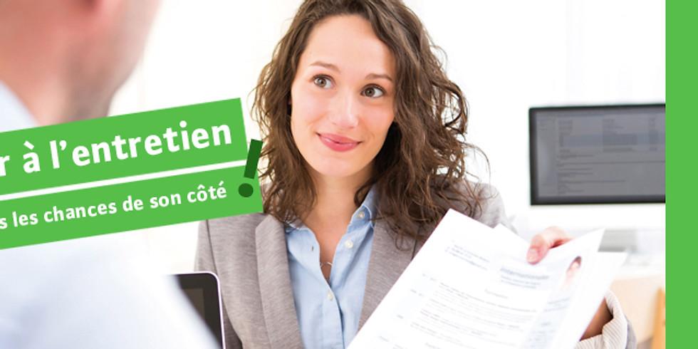 S'entraîner à l'entretien d'embauche (10h)