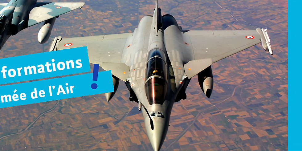 S'informer sur les métiers de l'Armée de l'Air (14h)