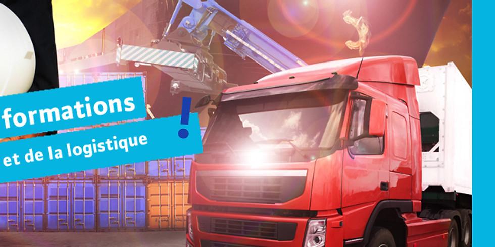 S'informer sur les métiers du Transport et de la logistique (15h30)