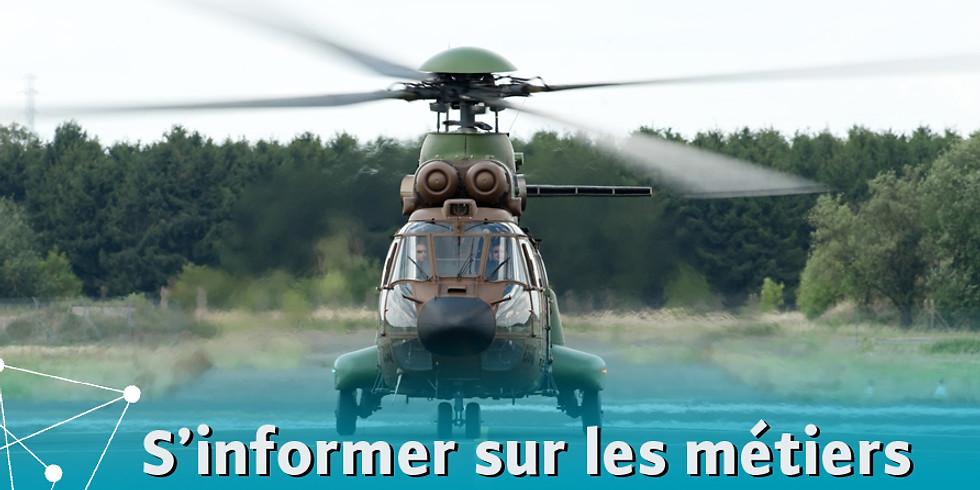 S'informer sur les métiers de l'Armée de Terre, Sécurité Civile, Pompiers de Paris (15h30)
