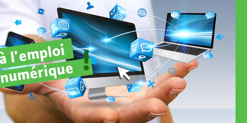 Accéder à l'emploi avec le numérique