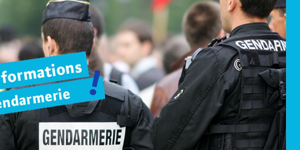 S'informer sur les métiers de la Gendarmerie (9h30)