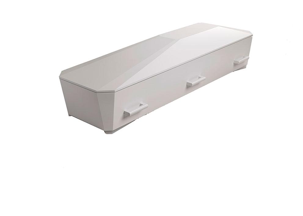 Kiste, hvit diamant