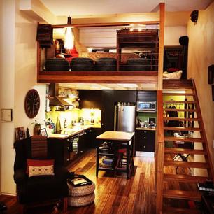 Studio Apartment Renovation, Redfern
