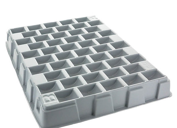 Small Empty Token Counting Tray - Holds 500 25mm/29mm