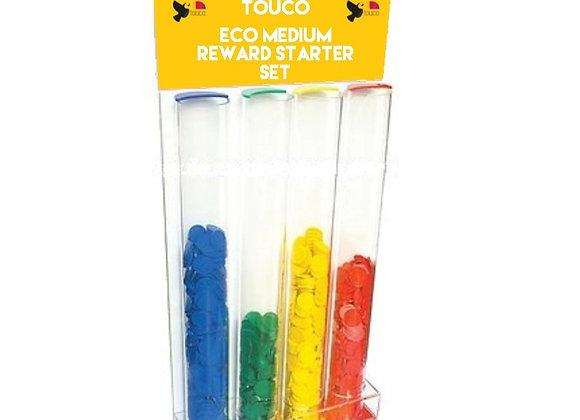 Eco Medium School Reward Starter Pack - Tokens Primary Colour