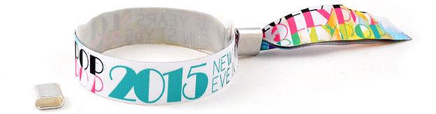 Fabric Printed Wristbands, Personalised Custom Wristbands