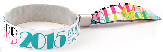 Touco Fabric Woven Printed Personalised Custom Wristbands