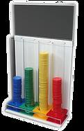 Touco Plastic Token Collection Tubes Reward Tokens Behaviour System