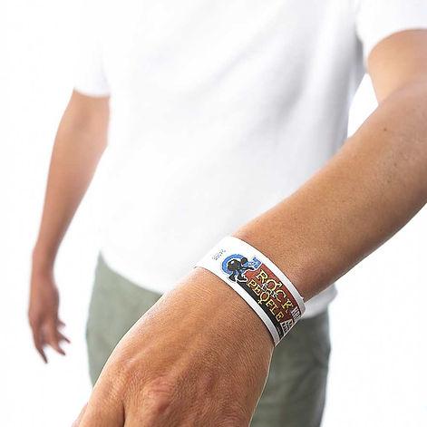 Touco Tyvek Printed Personalised Custom Wristbands Festival
