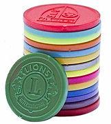Touco Embossed Personalised Custom Plastic Tokens
