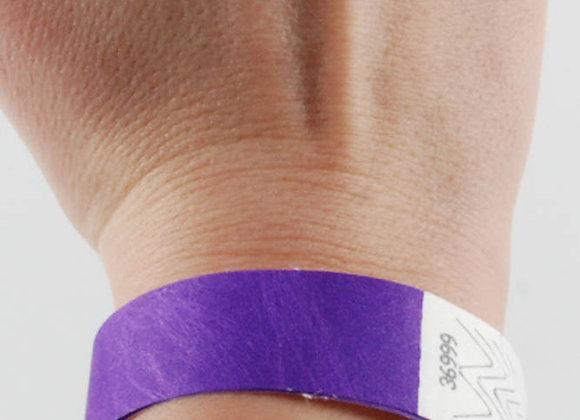Plain Tyvek Wristbands (Pack of 500)
