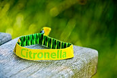 Touco Fabric Woven Printed Personalised Custom Wristbands Festival Citronella Scented