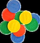 Touco House Point Plastic Tokens Reward Tokens School