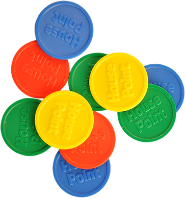 Touco House Point Plastic Tokens Reward Tokens Schools