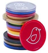 Touco Printed Personalised Custom Plastic Tokens