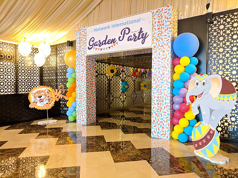 employee day theme party