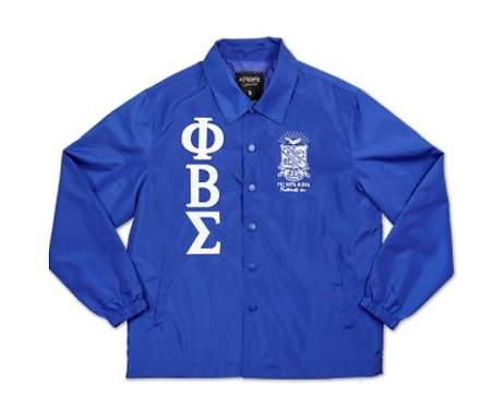 PHI BETA SIGMA COACH/LINE JACKET