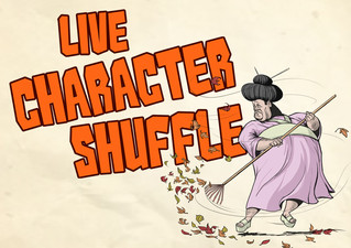 Live Character Shuffle